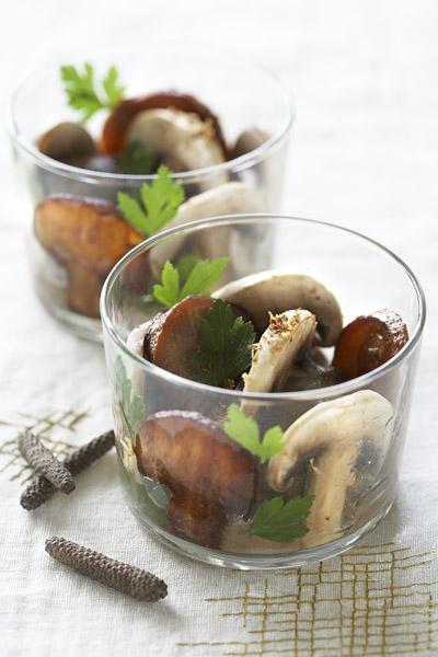 verrine champignon