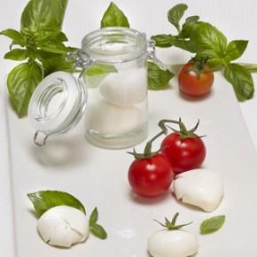 recettes moléculaires, mini mozzarella faite maison