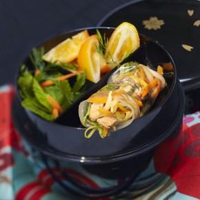 Recettes de cuisine mol culaire gwen rassemusse tana s 39 cuiz in agence de cr ation culinaire - Spaghetti cuisine moleculaire ...