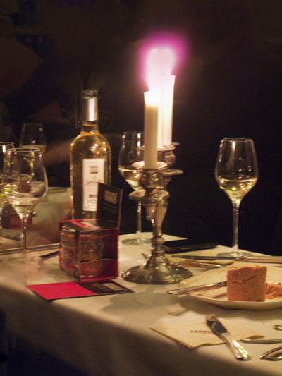 recette de terrine de foie gras en conserve et saumon fumé, soirée labeyrie
