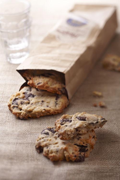 recettes de cookies à l'okara et au chocolat
