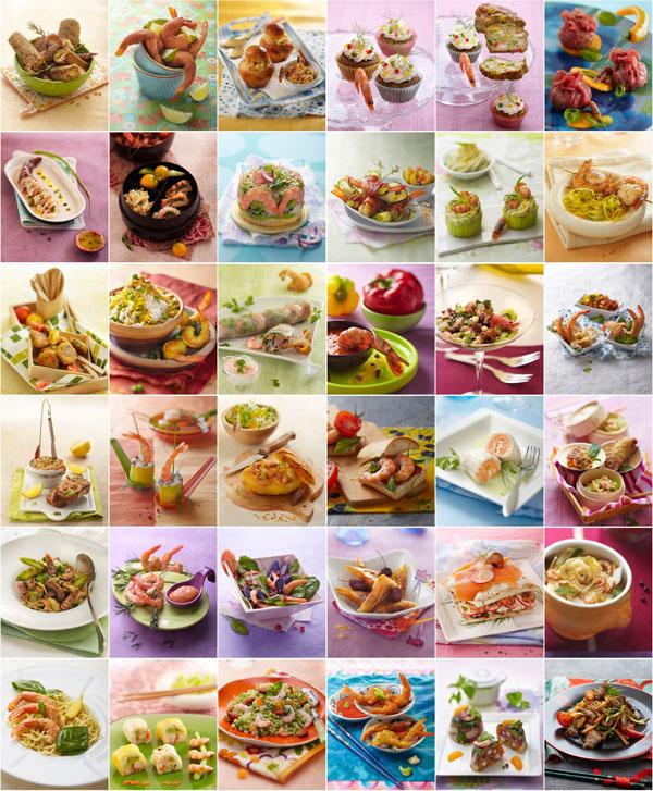 recettes aux crevettes grises, recettes aux crevettes roses, recettes aux grosses crevettes