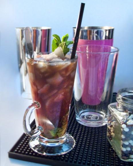 création culinaire de cocktail et mixologie