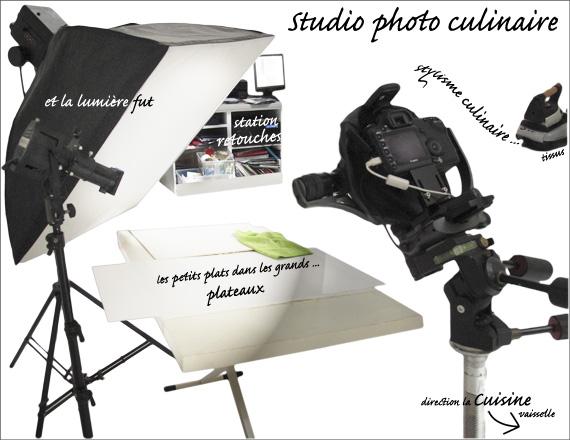 Studio photo dédié à la photographie culinaire