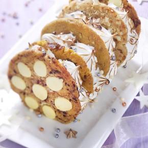 Stylisme culinaire : cookies bûche glacée