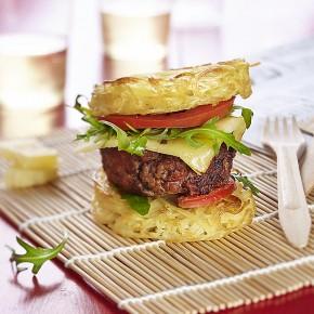 Création culinaire tendance, le ramen burger