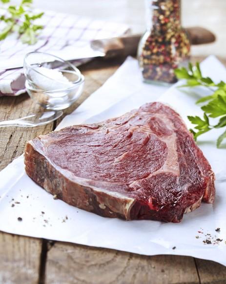 Photo culinaire de viande crue