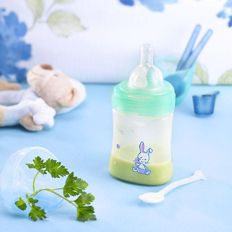Photo culinaire de recette de légumes pour bébé