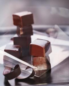 Recette caramel, caramel au chocolat noir