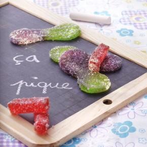 Recettes bonbons, langue piquante