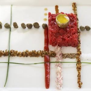 Design Culinaire - Tartare Mondrian