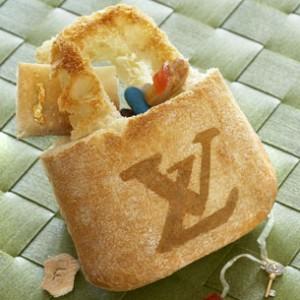 Design culinaire - Sac Vuitton