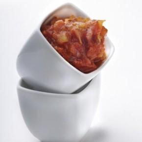 Fondue de tomates, sauces et vinaigrettes