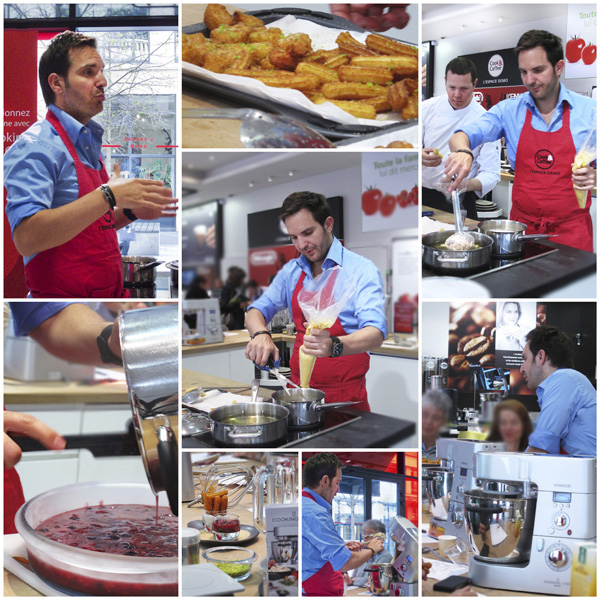 Atelier cuisine paris par Christophe Michalak et le cooking chef