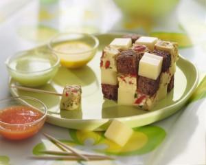 Photographie culinaire : rulik's cube apéritif