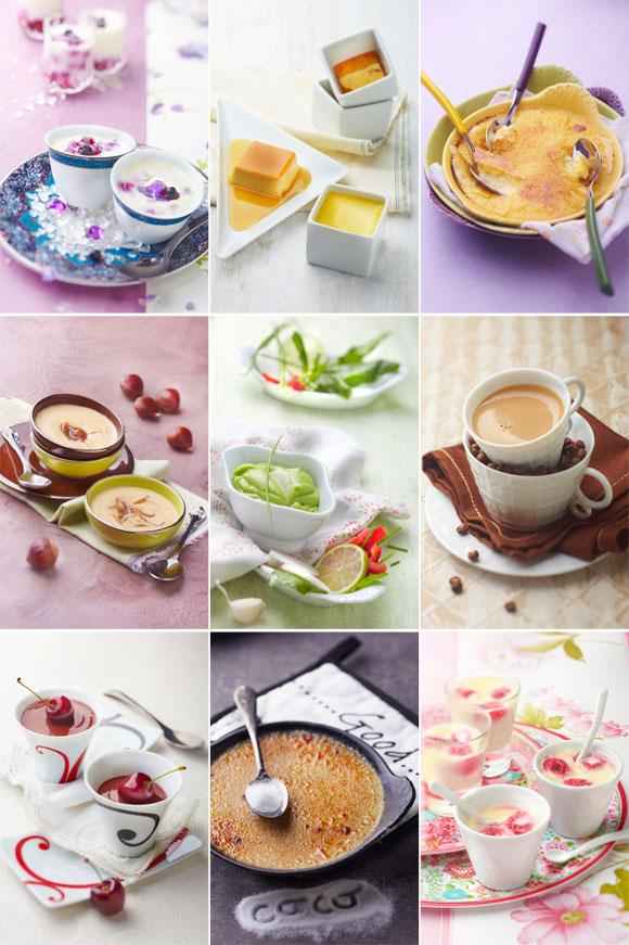 Stylisme culinaire paris porcelaines Deshoulières