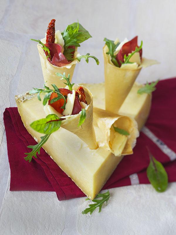 Design culinaire : fromage AOP d'Auvergne