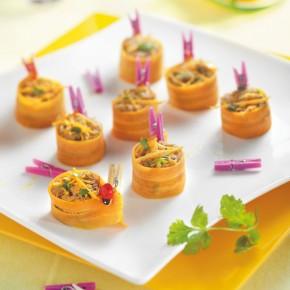Rillettes de canard aux carottes