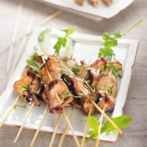 Brochette apéritive asiatique