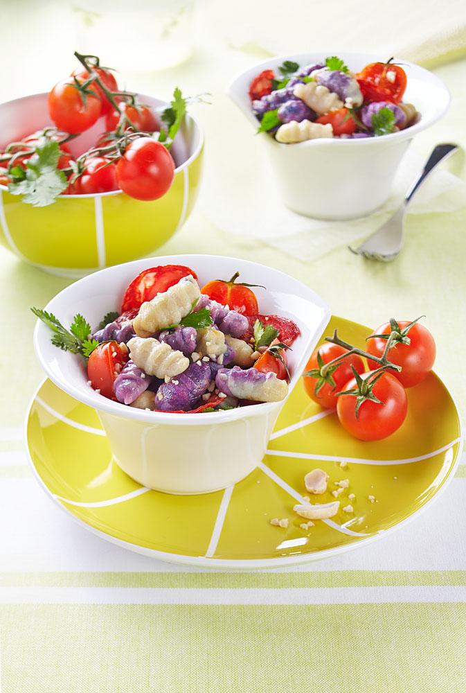 gnocchi bicolores design