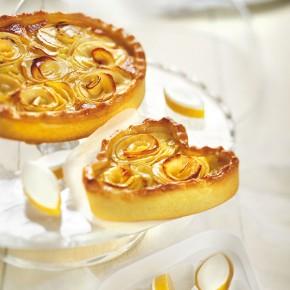 tarte aux pommes en photo culinaire