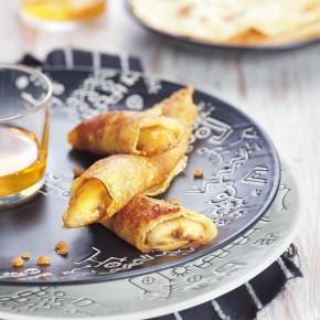 Crêpes caramélisées à la banane, photographe culinaire S'cuiz in.