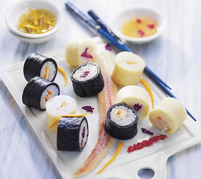 photographie culinaire : sushis revisités