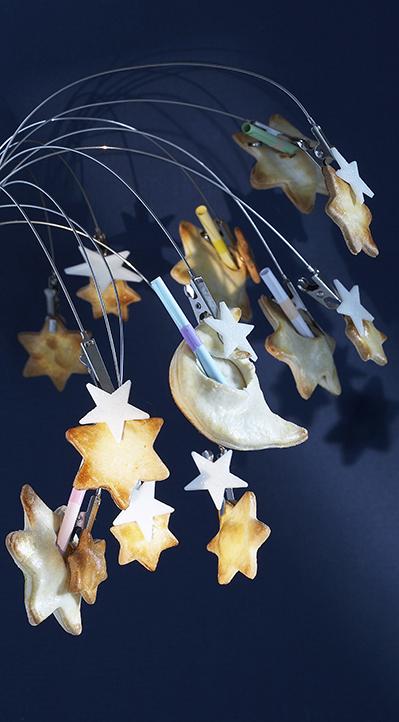 photographie culinaire : sablés étoiles