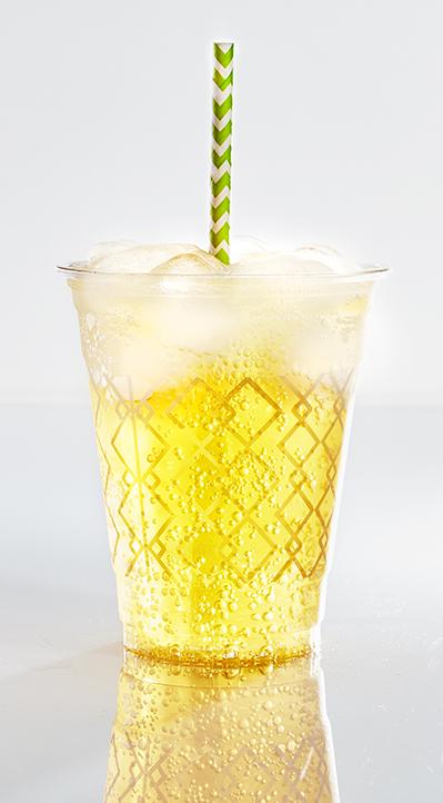 photographie culinaire : soda glacé citron
