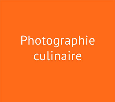 Icône Photographie culinaire
