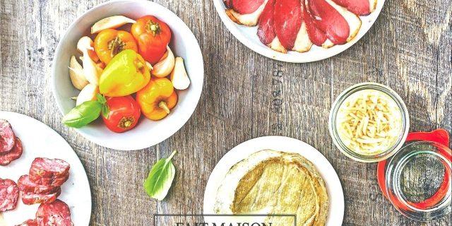 """Livre """"Fumaisons & salaisons"""" - éditions Hachette Cuisine - Collection Fait Maison"""