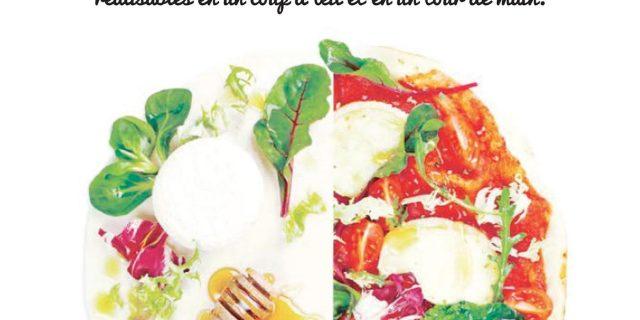 """Livre """"Pizza, Quiches et cakes"""" - éditions Hachette Cuisine"""