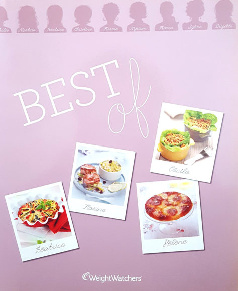 "Livre ""Best of"", agence S'cuiz in, éditions Weight Watchers"