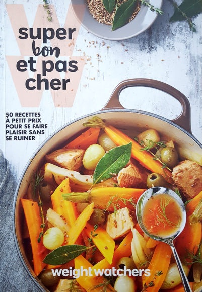 "Livre ""Super bon et pas cher"", agence S'cuiz in, éditions Weight Watchers"