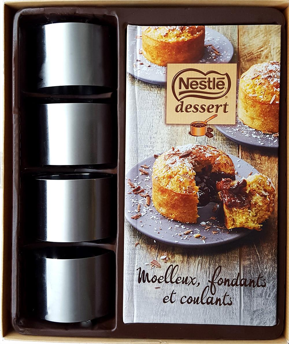 Coffret recettes moelleux chocolat. Texte et photographie culinaire S'cuiz in, éditions Hachette Cuisine