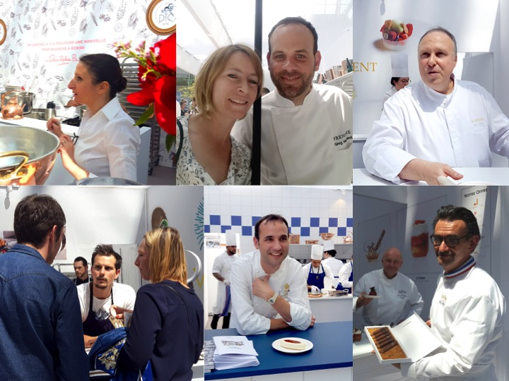 portraits de chefs au festival Taste Of Paris